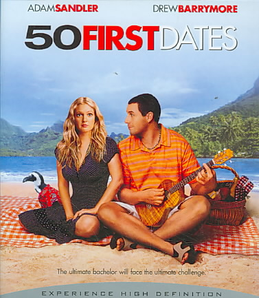 50 FIRST DATES BY SANDLER,ADAM (Blu-Ray)